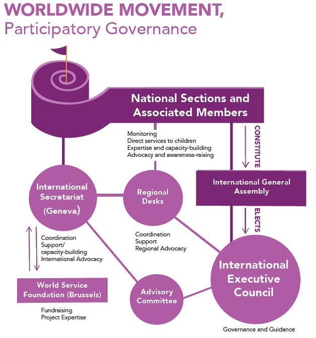 Organigramme organisationnel EN