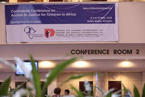Conference Justice for Children in Africa 2018